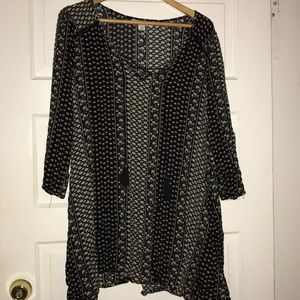Patterned Dress/Cover Up